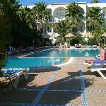 Hotel Emira swimming pool