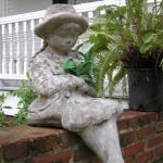 Statue on the Front Porch