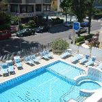 the pool at hotel kursaal
