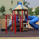 Bigger kids playground