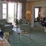 Tinkerbelle Suite in Castle Club. Living Room thru to Bedroom