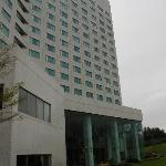 View of the hotel from the outside