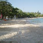 beach/not pretty water