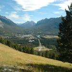 View of Banff from Mt. Norquay