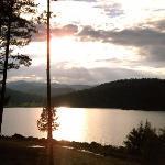 Sunset at Inn of the Mountain Gods