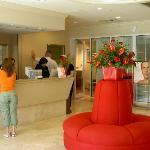 Entrance to Elizabeth Arden Red Door Salon and Spa