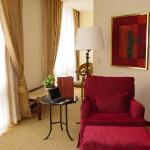 Sitting Area - Room 2001 - JW Marriott Mexico City