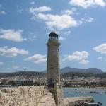 Rethymnon light-house