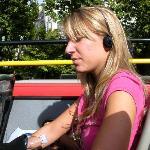 The open top bus tour...