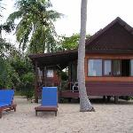 the Beach front bungalow