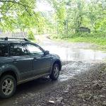 Road to Islita - lucky river was low.