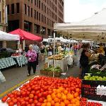 Division St. Farmer's Market - 1 1/2 block South of the Hotel - Saturdays Summer to mid-Fall