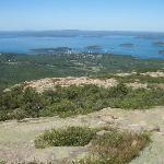 Bar Harbor from Cadillac Mountain