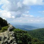 A view from nearby Skyline Drive