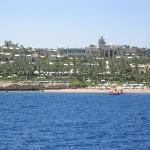 Resort from offshore