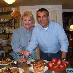 TV Host George Hirsch & RMI Chef Shari Alexander