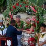 our Beqa wedding on the beach