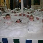The kids loved the jacuzzi!