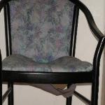 The broken chair