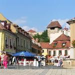 Small Square & Castle Above