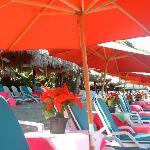 Otilia's Restaurante on Las Gatas Beach