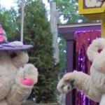 Wally Bear & Wendy Bear perform at the ShowTime Theater