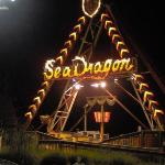 Sea Dragon at night