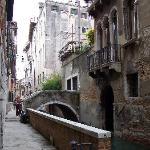The bridge and main entrance