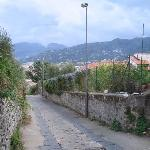 View of path down to Sorrento