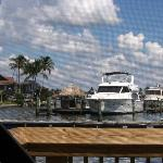 Jack's lookout bar at Marco River Marina. GREAT PLACE