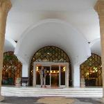 Entrance to Hotel Kanta