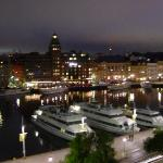 The view at night - Nybroviken