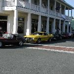 Classics in front of the hotel