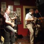 music in pub at Kenmare