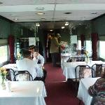 Dining car, Maine Eastern Railroad