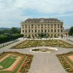 View from Garden at Schoebrunn