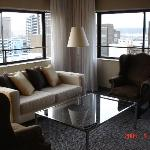 living room in my suite