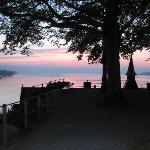 walk along the lake