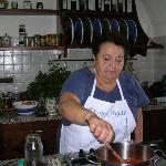 Mamma Agata at Work