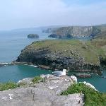 Breathtaking Cliffs - What King Arthur could have looked over (if he existed)