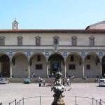 Brunelleschi's facade for the Ospedale degli Innocenti