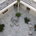 Central court yard at the hotel