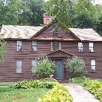 Louisa Mae Alcott's Home (Little Women)...within walking distance