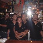 The staff at billabong
