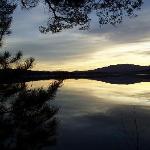 Newfound Lake sunset