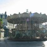 carousel a few blocks from hotel