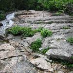 View of boulders ahead
