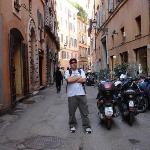 A view down Via Banchi Vecchi