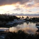 Port St Charles sunset
