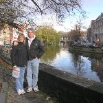 Brugge Canal & us